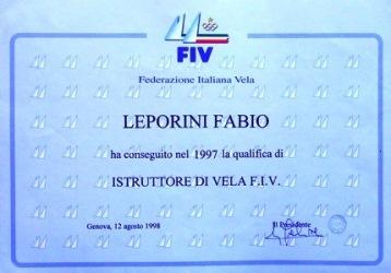 Scuola di Vela Corsi di Vela Istruttore Fabio Leporini Cetraro Cosenza