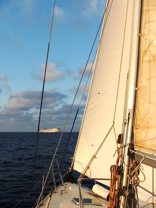 Evitare gli abbordi a mare: ecco un trucco per ricordare le precedenze