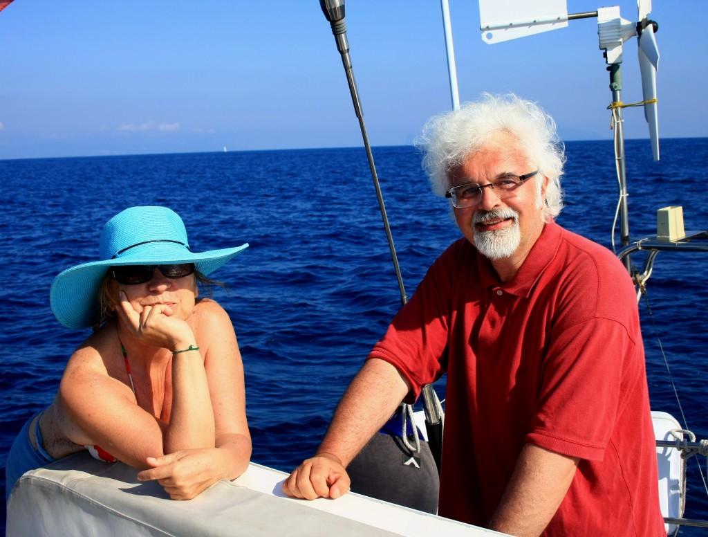 Syusy e Patrizio su Adriatica