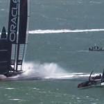 Emirates Team New Zealand Vs Team Oracle Usa 8-8. Chi vincerà la Coppa America?