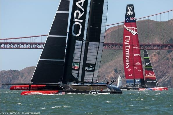 Coppa america Oracle Team Usa Emirates Team New Sealand