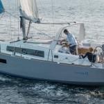 Beneteau Oceanis 38 navigazione