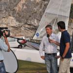 Vela in Tv: Linea Blu al Centro Federale Fiv di Campione del Garda