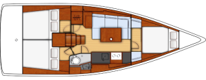Oceanis 38 Interni Cruiser 1