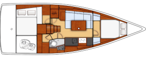 Oceanis 38 Interni Cruiser_diaporama