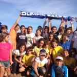 Sole e vento sul raduno nazionale Cadetti al Club Velico Crotone