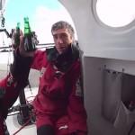 Andrea Mura, il primo italiano a salire sul podio della Transat Jacques Vabre: il video