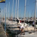 La flotta J24 e il Campionato d'Autunno di Marina di Carrara