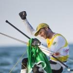 Laser Standard, il mondiale in Oman lo vince il brasiliano Robert Scheidt: le foto