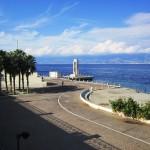Reggio Calabria e il suo mare abbracciano la grande vela