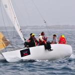 J24 Romagna al Campionato Memorial Pirini: Kismet vince la prima manche