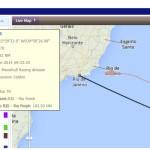 Il Vor70 di Giovanni Soldini è a 180 miglia dal Brasile