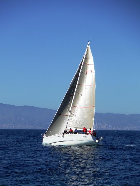 A Gonfie vele il campionato Invernale di Vela d'Altura 3
