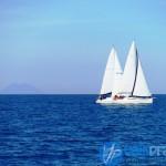 Barca libera dalla poppa, libera dalla prua, ingaggiata