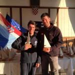 Doppio podio per il Club Velico Crotone nell'Europa Cup Laser di Hvar, Croazia