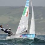 Barche in acqua a Crotone per il campionato nazionale Classe 470