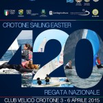 Regata nazionale 420 di Pasqua in Calabria: il Club Velico Crotone ospita 260 atleti