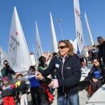 Il Club Velico Crotone festeggia con Alessandra Sensini