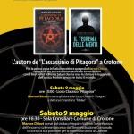 """""""L'assassinio di Pitagora"""" a Crotone: Marcos Chicot, l'autore del best seller, ospite del Club Velic..."""