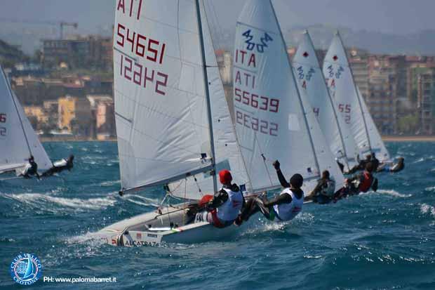 Crotone, regata nazionale classe 420 dichiarazioni, foto e classifica  (12)
