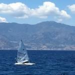 """Reggio e il """"Velico"""" abbracciano la vela internazionale: croati e ungheresi in allenamento nello Str..."""