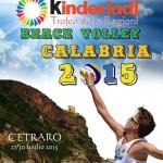 Beach Volley a Cetraro: al via le Kinderiadi 2015. Tra i supporters il Centro Velico Lampetia