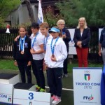 Trofeo Coni: i fantastici 4 del team calabrese vanno a podio