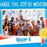 Il Club Velico Crotone è sul podio dell'iniziativa Share the Joy of Moving