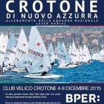 """La nazionale si allena a Crotone, """"la Coverciano della vela"""""""