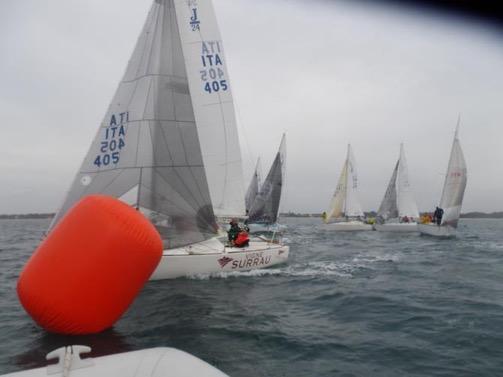 Flotta Sarda J24 in Sardegna comanda Vigne Surrau