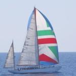 Messina: la Federvela Calabria e Basilicata a bordo della nave scuola Caroly