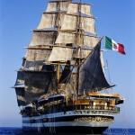 Tutti a bordo dell'Amerigo Vespucci