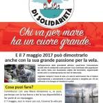 Veleggiata di solidarietà nelle acque di Cetraro
