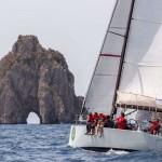 La grande vela arriva Capri: il CVL naviga con Hydra di Burza
