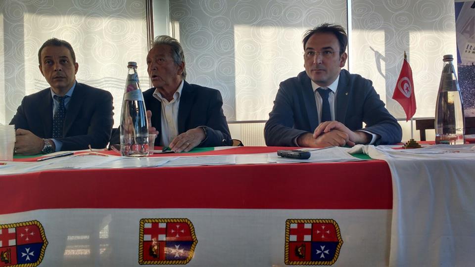 Un momento della presentazione della 33esima edizione della Mediterranean Cup