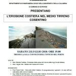 L'erosione costiera nel Medio Tirreno cosentino