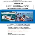 A Cetraro un convegno sul nuovo Codice della Nautica