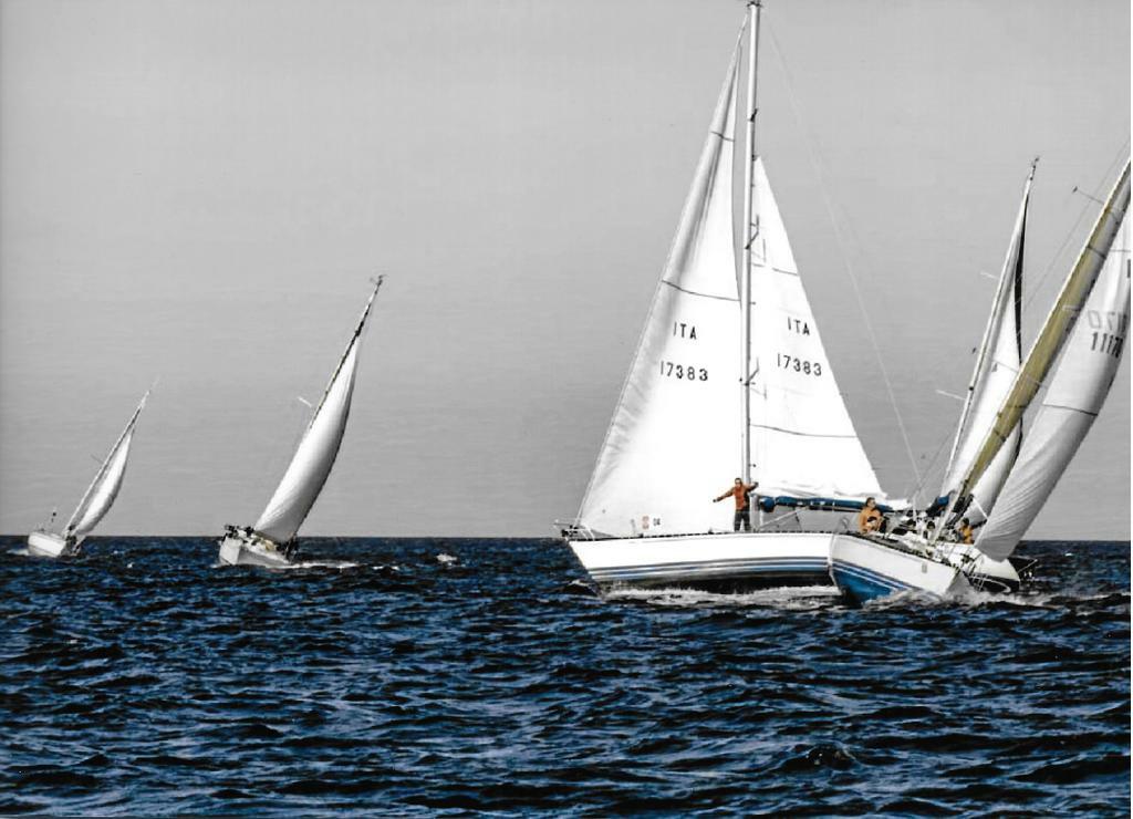 Questione di X(Yacht). Eta Beta e Ariel in regata.