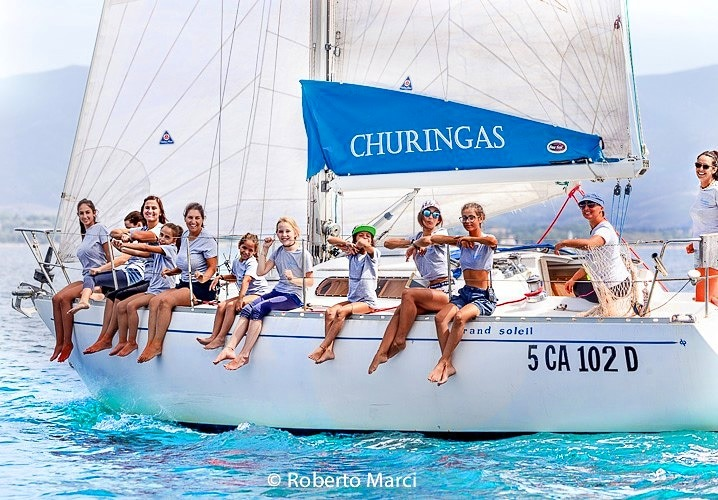 """Churingas, la """"barca dolce barca"""" di Marta."""