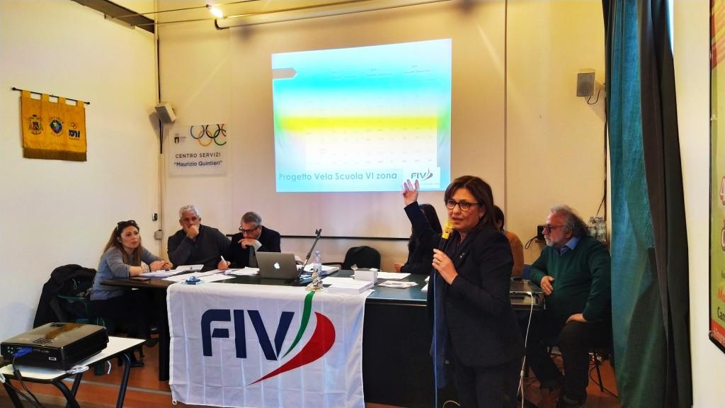 il-presidente-della-vi-zona-fiv-valentina-colella