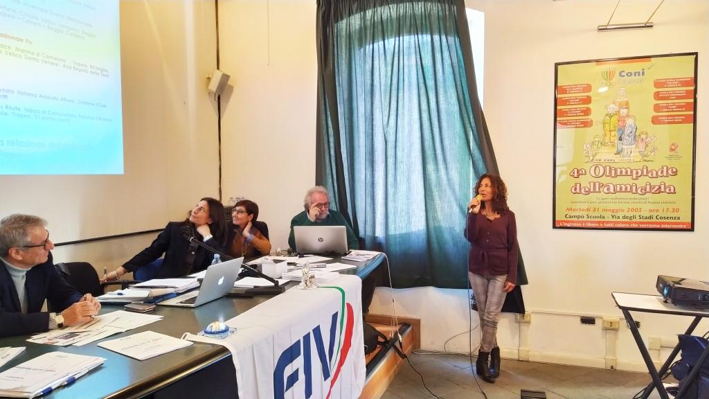 La delegata altura Rosa Ferrone