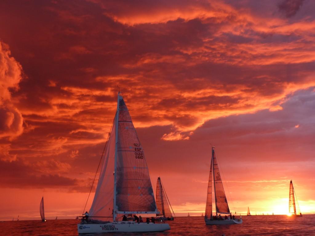 Ancona, l'alba dei mondiali. Foto di