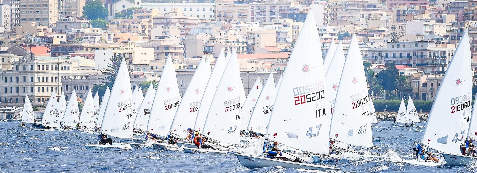 L'ITALIA CUP LASER A REGGIO CALABRIA   Vela Pratica